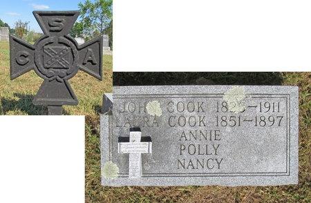 COOK, JOHN (VETERAN CSA) - McDonald County, Missouri | JOHN (VETERAN CSA) COOK - Missouri Gravestone Photos