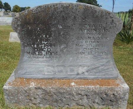 COOK, MARGARET A. - McDonald County, Missouri | MARGARET A. COOK - Missouri Gravestone Photos