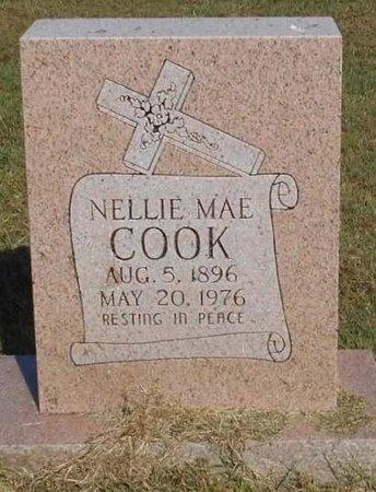 COOK, NELLIE MAE - McDonald County, Missouri | NELLIE MAE COOK - Missouri Gravestone Photos