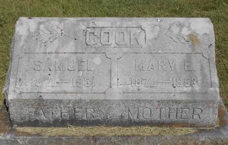 COOK, SAMUEL - McDonald County, Missouri | SAMUEL COOK - Missouri Gravestone Photos