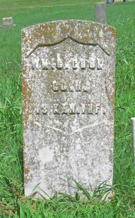 COOK, WILLIAM G VETERAN UNION - McDonald County, Missouri   WILLIAM G VETERAN UNION COOK - Missouri Gravestone Photos