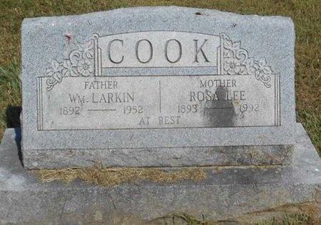 COOK, ROSA LEE - McDonald County, Missouri | ROSA LEE COOK - Missouri Gravestone Photos