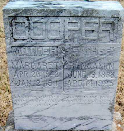COOPER, BENJAMIN - McDonald County, Missouri | BENJAMIN COOPER - Missouri Gravestone Photos