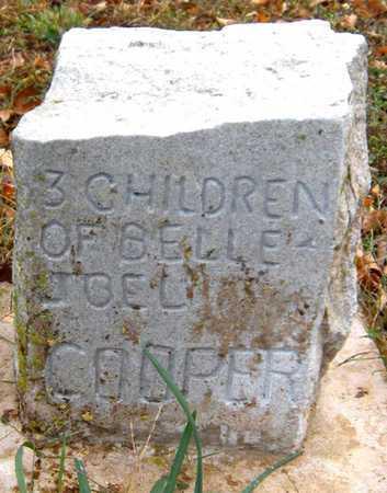 COOPER, CHILD - McDonald County, Missouri | CHILD COOPER - Missouri Gravestone Photos