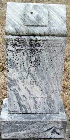 MILLESON COOPER, EMMA COESSA - McDonald County, Missouri | EMMA COESSA MILLESON COOPER - Missouri Gravestone Photos
