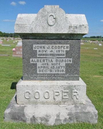 COOPER, JOHN J - McDonald County, Missouri | JOHN J COOPER - Missouri Gravestone Photos