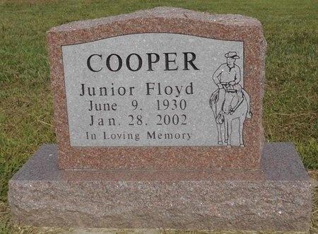 COOPER, JUNIOR FLOYD - McDonald County, Missouri | JUNIOR FLOYD COOPER - Missouri Gravestone Photos
