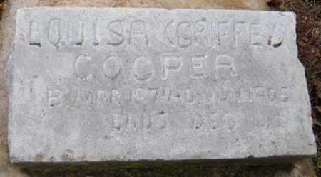 COOPER, LOUISA - McDonald County, Missouri | LOUISA COOPER - Missouri Gravestone Photos