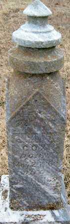 COX, JOHN R - McDonald County, Missouri | JOHN R COX - Missouri Gravestone Photos