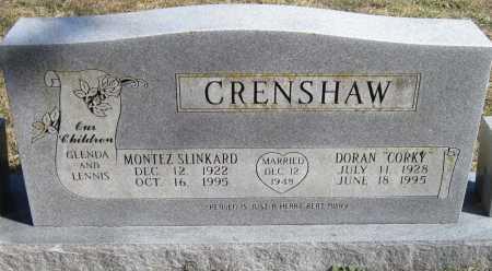 CRENSHAW, MONTEZ - McDonald County, Missouri | MONTEZ CRENSHAW - Missouri Gravestone Photos