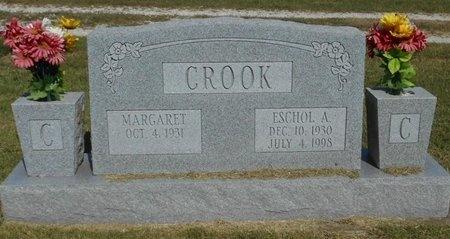 CROOK, ESCHOL A. - McDonald County, Missouri | ESCHOL A. CROOK - Missouri Gravestone Photos