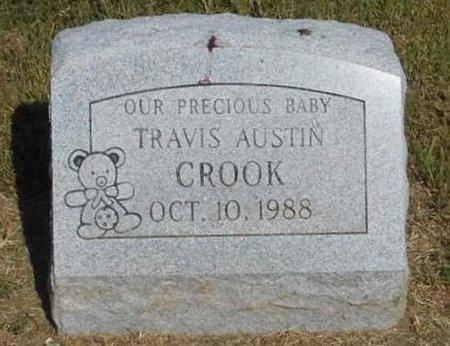 CROOK, TRAVIS AUSTIN - McDonald County, Missouri | TRAVIS AUSTIN CROOK - Missouri Gravestone Photos