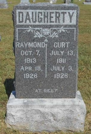 DAUGHEERTY, CURT - McDonald County, Missouri | CURT DAUGHEERTY - Missouri Gravestone Photos
