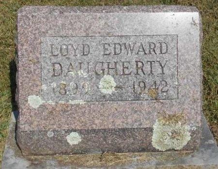 DAUGHERTY, LOYD EDWARD - McDonald County, Missouri | LOYD EDWARD DAUGHERTY - Missouri Gravestone Photos