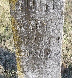 DOUGHTY DEAN, MARY A. - McDonald County, Missouri | MARY A. DOUGHTY DEAN - Missouri Gravestone Photos