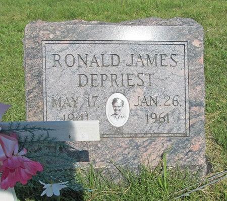 DEPRIEST, RONALD JAMES - McDonald County, Missouri | RONALD JAMES DEPRIEST - Missouri Gravestone Photos