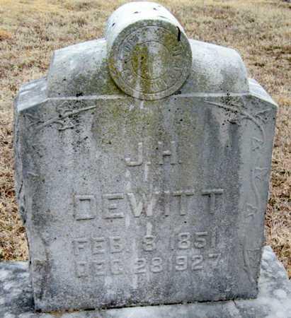 DEWITT, JEFFERSON HOUSER - McDonald County, Missouri | JEFFERSON HOUSER DEWITT - Missouri Gravestone Photos