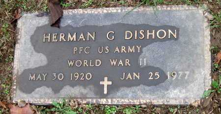 DISHON, HERMAN GENE VETERAN WWII - McDonald County, Missouri | HERMAN GENE VETERAN WWII DISHON - Missouri Gravestone Photos