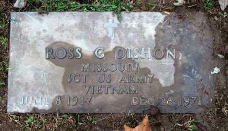 DISHON, ROSS GENE VETERAN VIETNAM - McDonald County, Missouri | ROSS GENE VETERAN VIETNAM DISHON - Missouri Gravestone Photos