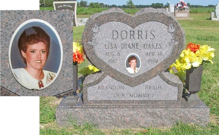 OAKES DORRIS, LISA DIANE - McDonald County, Missouri   LISA DIANE OAKES DORRIS - Missouri Gravestone Photos