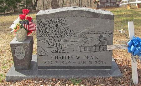 DRAIN, CHARLES WILLIAM - McDonald County, Missouri | CHARLES WILLIAM DRAIN - Missouri Gravestone Photos