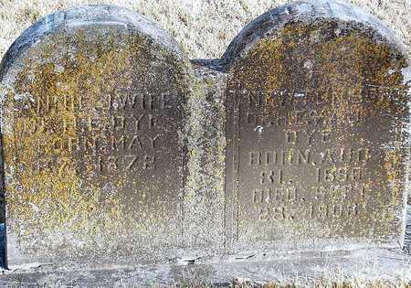 DYE, ANNA J - McDonald County, Missouri | ANNA J DYE - Missouri Gravestone Photos