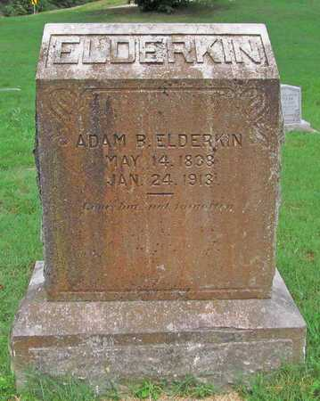 ELDERKIN, ADAM B - McDonald County, Missouri | ADAM B ELDERKIN - Missouri Gravestone Photos