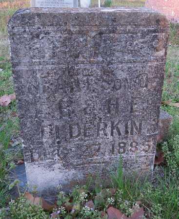 ELDERKIN, INFANT SON - McDonald County, Missouri | INFANT SON ELDERKIN - Missouri Gravestone Photos