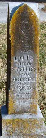 CALDWELL ELLIFF, LOIS - McDonald County, Missouri | LOIS CALDWELL ELLIFF - Missouri Gravestone Photos