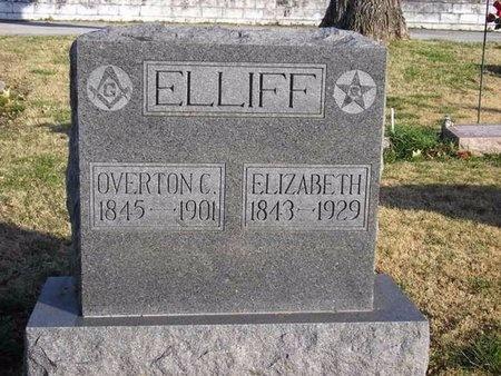 ELLIFF, MARY ELIZABETH - McDonald County, Missouri | MARY ELIZABETH ELLIFF - Missouri Gravestone Photos