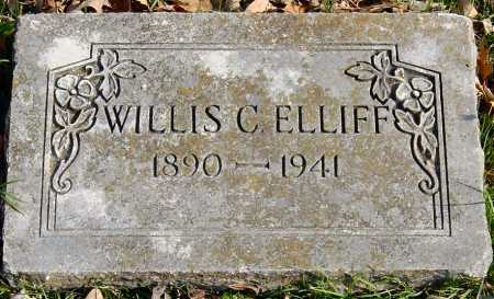 ELLIFF, WILLIS CONSTANT - McDonald County, Missouri | WILLIS CONSTANT ELLIFF - Missouri Gravestone Photos
