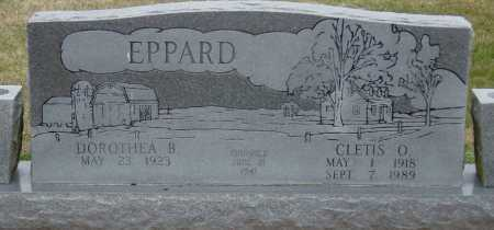 EPPARD, CLETIS O - McDonald County, Missouri | CLETIS O EPPARD - Missouri Gravestone Photos