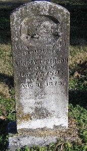 EPPERSON, APHREY - McDonald County, Missouri | APHREY EPPERSON - Missouri Gravestone Photos