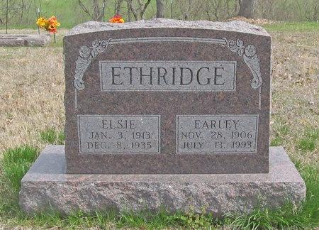 ETHRIDGE, EARLEY - McDonald County, Missouri | EARLEY ETHRIDGE - Missouri Gravestone Photos