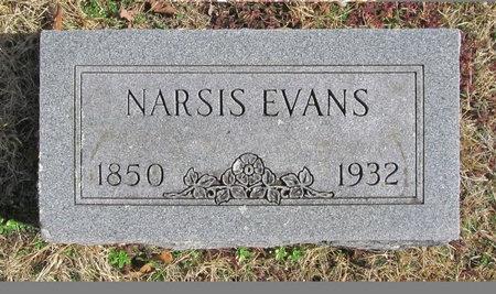 EVANS, NARSIS - McDonald County, Missouri   NARSIS EVANS - Missouri Gravestone Photos