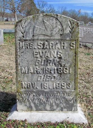 EVANS, SARAH S - McDonald County, Missouri | SARAH S EVANS - Missouri Gravestone Photos