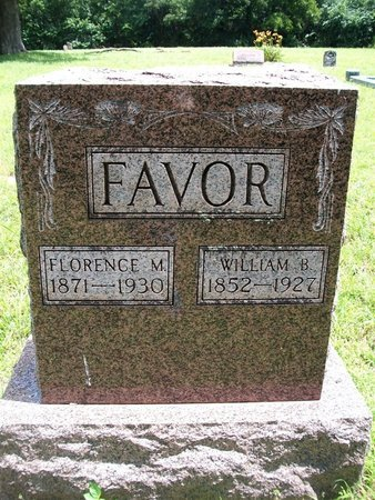 FAVOR, FLORENCE - McDonald County, Missouri | FLORENCE FAVOR - Missouri Gravestone Photos