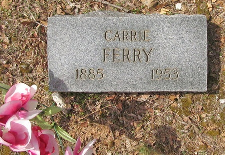 FERRY, CARRIE - McDonald County, Missouri | CARRIE FERRY - Missouri Gravestone Photos
