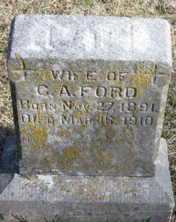 FORD, KATE - McDonald County, Missouri | KATE FORD - Missouri Gravestone Photos