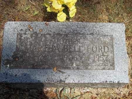 WARD FORD, MARTHA BELL - McDonald County, Missouri | MARTHA BELL WARD FORD - Missouri Gravestone Photos