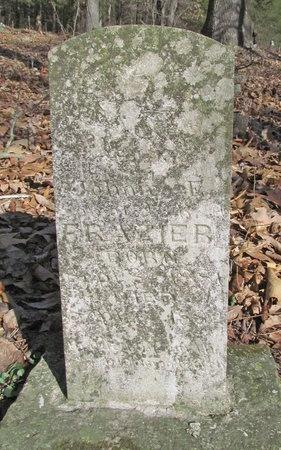 FRAZIER, JOHNIE E - McDonald County, Missouri | JOHNIE E FRAZIER - Missouri Gravestone Photos