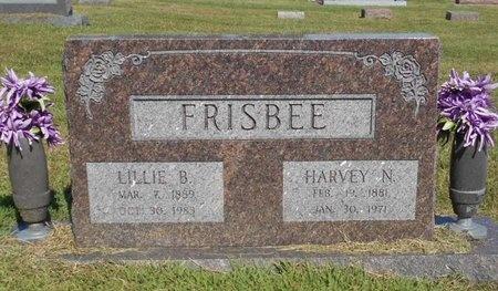 FRISBEE, HARVEY N. - McDonald County, Missouri   HARVEY N. FRISBEE - Missouri Gravestone Photos