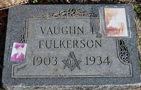 FULKERSON, VAUGHN L - McDonald County, Missouri   VAUGHN L FULKERSON - Missouri Gravestone Photos