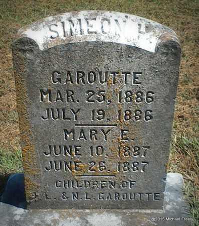 GAROUTTE, MARY ELIZA - McDonald County, Missouri | MARY ELIZA GAROUTTE - Missouri Gravestone Photos