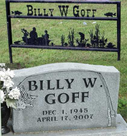 GOFF, BILLY WAYNE - McDonald County, Missouri   BILLY WAYNE GOFF - Missouri Gravestone Photos
