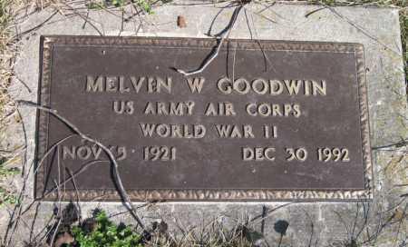 GOODWIN, MELVIN W (VETERAN WWI) - McDonald County, Missouri   MELVIN W (VETERAN WWI) GOODWIN - Missouri Gravestone Photos