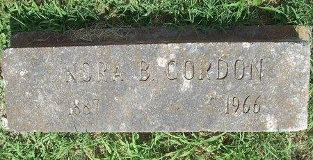 GORDON, NORA B. - McDonald County, Missouri   NORA B. GORDON - Missouri Gravestone Photos