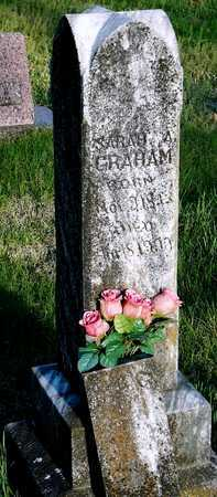 GRAHAM, SARAH ANGELINE - McDonald County, Missouri | SARAH ANGELINE GRAHAM - Missouri Gravestone Photos