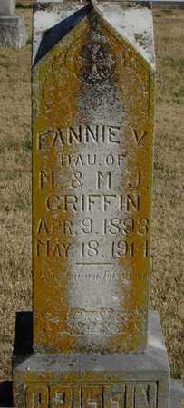 GRIFFIN, FANNIE - McDonald County, Missouri   FANNIE GRIFFIN - Missouri Gravestone Photos
