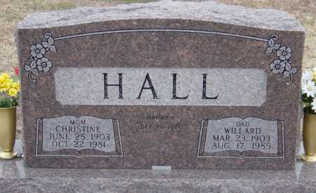 HALL, CHRISTINE - McDonald County, Missouri | CHRISTINE HALL - Missouri Gravestone Photos